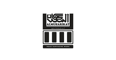 Almuharikat Road Surfacing Work Logo